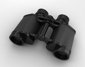 3D model Binoculars glasses