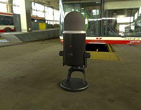 Microphone 3D asset