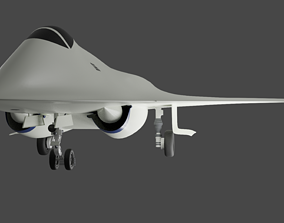 3D SUKHOI T-60 GOLUB aka THE PIGEON RUSSIAS 6TH GEN 1