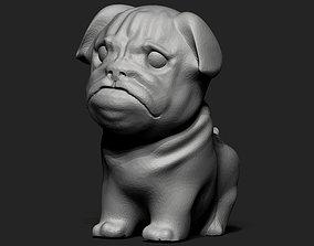 3D printable model Pug Dog