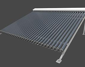 3D model solar collector 3