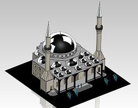 3D Mosque Infrastructure