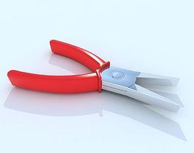 3D asset Flat pliers