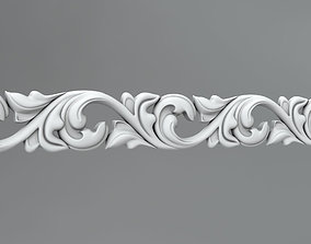 Molding and ornament 43 3D model