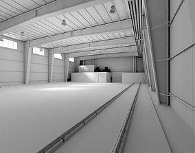 Factory Warehouse 2 3D asset