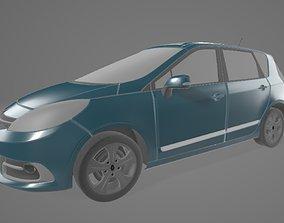 3D asset Renault Scenic
