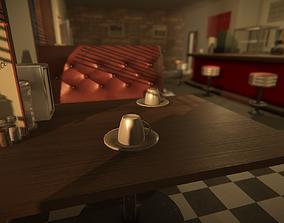 3D model modular Modular Diner Asset for Unity