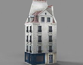 Paris apartment 3D asset