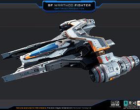 SF Warthog Fighter 3D asset