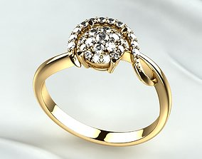 rings 3D printable model Gold Ring