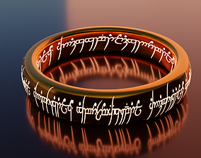 3D asset The One Ring from LOTR