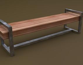 3D model Bench 17