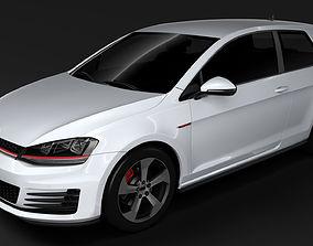 Volkswagen Golf 7 GTI 3D 2016