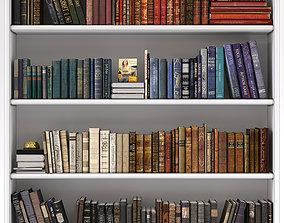 Book Set Classic Old 3D