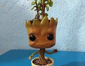 gruu plant pot 3D print model