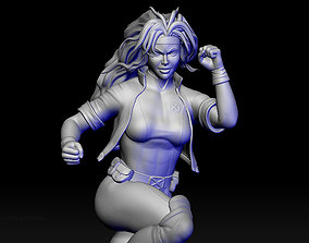 X-men Rogue 3D printable model