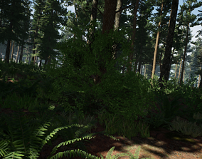 3D asset ForestPack vol1