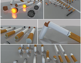 3D model Modular Cigarettes High-Poly Version