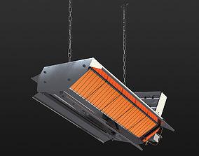 Gas ceramic heater 216 XLA 3D
