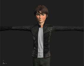 3D model Teenage Boy Carson Lueders