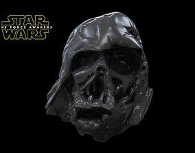 3D printable model Darth Vader Episode 7 helmet The 3