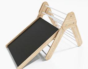 3D model Montessori Pikler triangle climbing frame