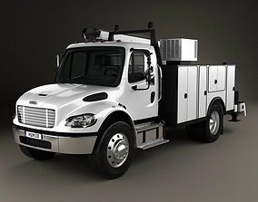 3D Freightliner M2 106 Utility Truck 2014