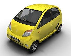 3D model 2008 Tata Nano