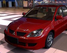 3D model Mitsubishi Lancer