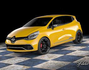 3D model Renault Clio RS 2013