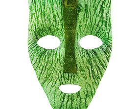 Mask from the movie The Mask 3D model