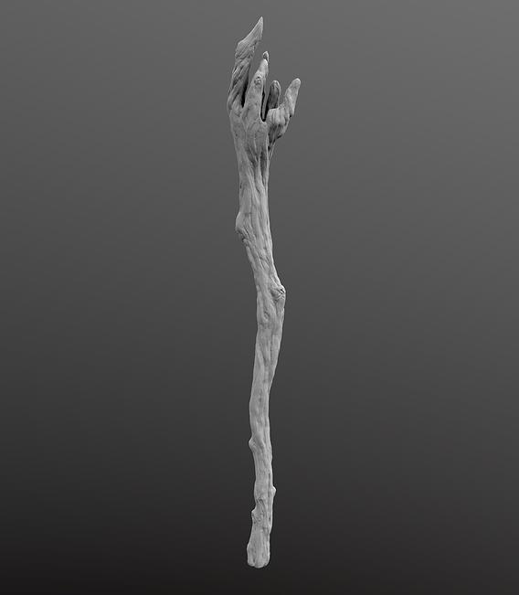 Wood Wizard's Wand