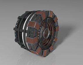 Iron Man Arc Reactor MK1 3D model