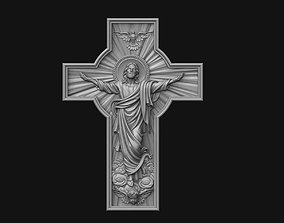 Ascension Cross 3D printable model