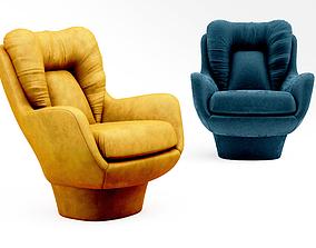 3D model Signature Raymond armchair