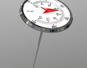 Thermometer 3D model VR / AR ready