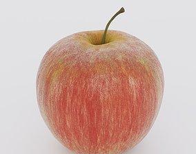 Low Poly Apple Fruit 3D model