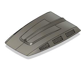 RC Avenger Engine Cover For RC Crawler 3D printable model