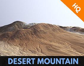 3D model Desert Mountains Africa Landscape Dunes PBR Low 2