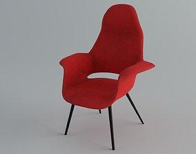 Chair Vitra Organic Highback 3D model
