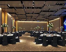 Hotel ballroom DESIGN 3D