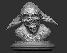 Zombie Master Yoda Sculpt 3D print model