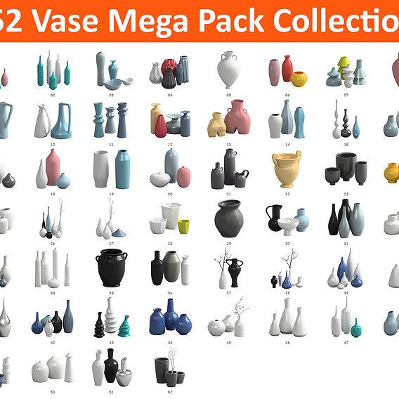 52 Vase Mega Pack Collection