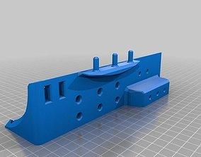 Wall Mount Tool Holder 3D printable model