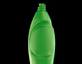Detergent Bottle 750 ml 3D