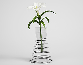 3D CGAxis flower