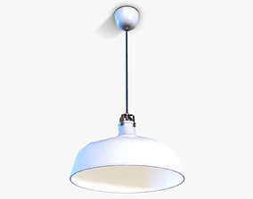 Ceiling Hanging Lamp lowpoly 3D model