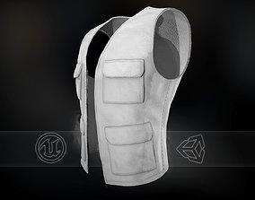 3D model White Vest