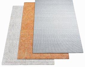 3D model WARLI Carpet for variations 34