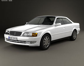 3D model Toyota Chaser 1998